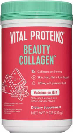 Image of Beauty Collagen Watermelon Mint 9 Oz. - Joint Support Vital Proteins