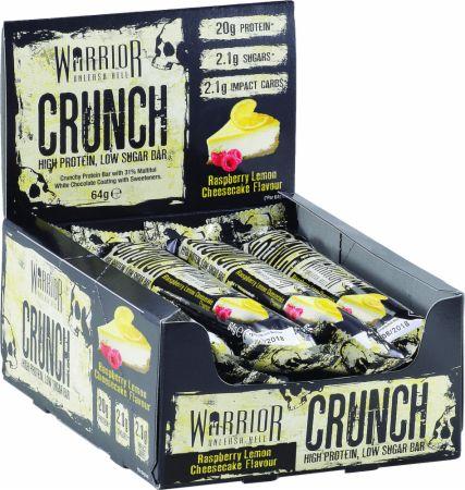 Image of Warrior Crunch 12 - 64g Bars Raspberry Lemon Cheesecake