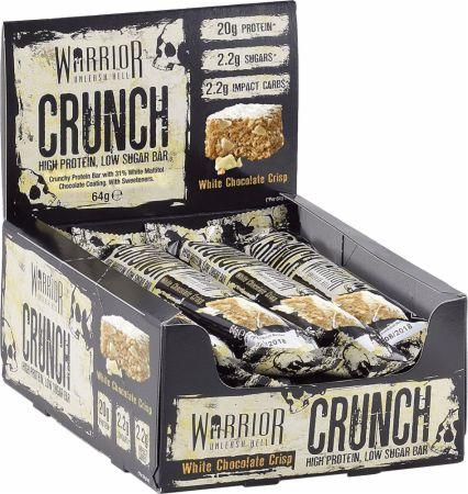 Image of Crunch White Chocolate Crisp 12 - 64g Bars - Protein Bars Warrior