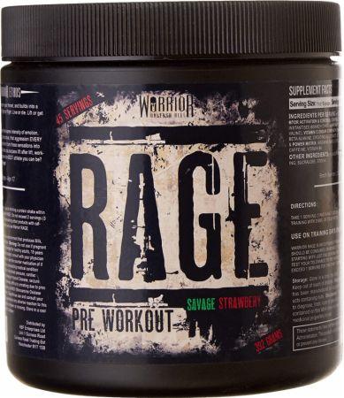 Image of Warrior Rage 45 Servings Savage Strawberry