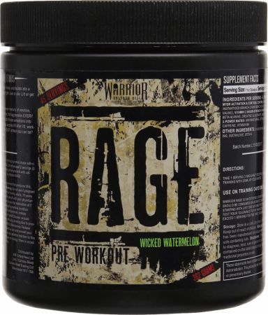 Image of Rage Wicked Watermelon 45 Servings - Pre-Workout Supplements Warrior