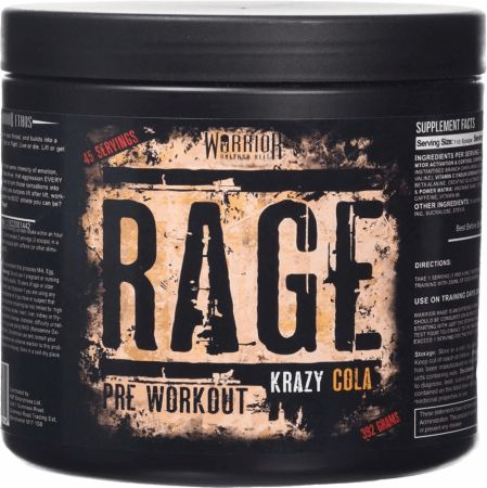 Image of Rage Krazy Cola 45 Servings - Pre-Workout Supplements Warrior