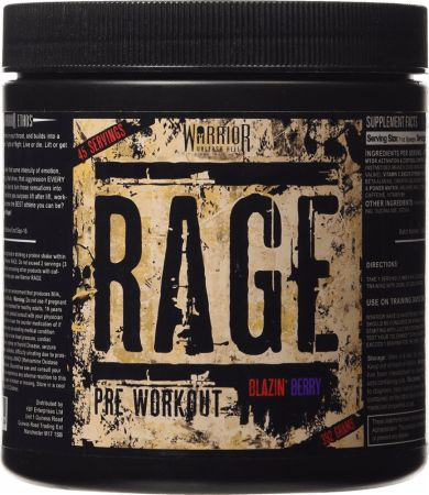 Image of Rage Blazin' Berry 45 Servings - Pre-Workout Supplements Warrior