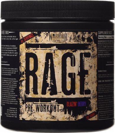 Image of Warrior Rage 45 Servings Blazin' Berry