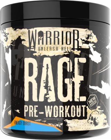 Image of Rage Energy Burst 45 Servings - Pre-Workout Supplements Warrior