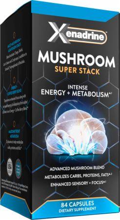 Image of Mushroom Super Stack 84 Capsules - Fat Burners Xenadrine