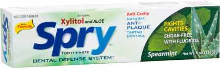 Spry Dental Defense Xylitol Toothpaste