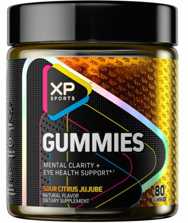Image of Gummies Sour Citrus JuJube 80 Gummies - Nootropics XP Sports
