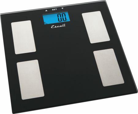Glass Body Fat, Body Water, Muscle Mass Scale