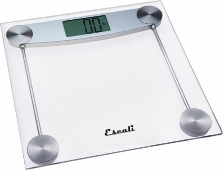 Clear Glass Bathroom Scale