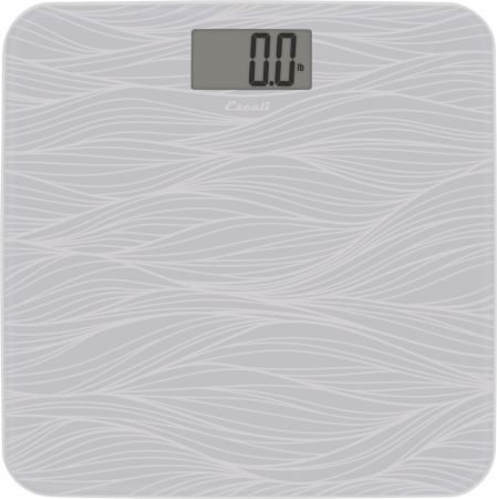 Glass Waves Bathroom Scale