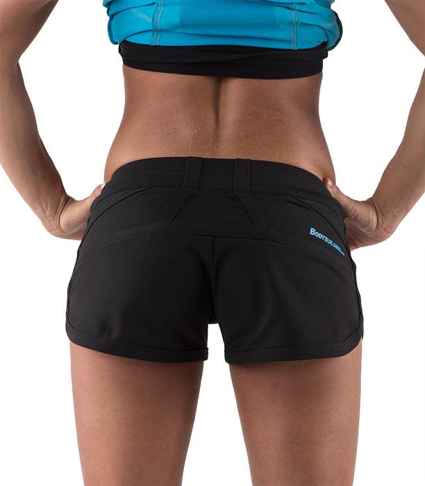 Bootyfull Short Back Black