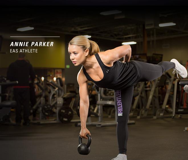 Annie Parker. EAS Athlete.
