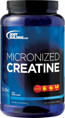 Bodybuilding.com Foundation Series Micronized Creatine